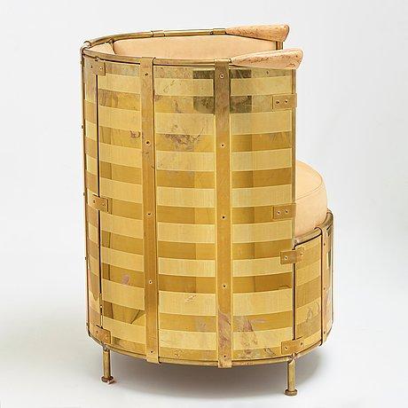 "Mats theselius, an ""el dorado"" easy chair, källemo, sweden post 2002."