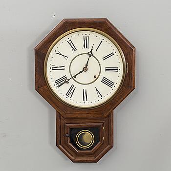 VÄGGUR, Waterbury Clock C&O, 1800/1900-tal,