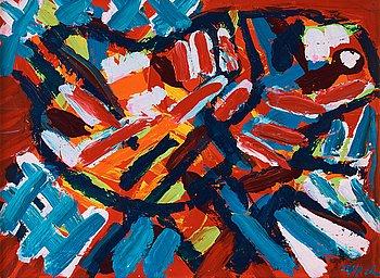 408. Karel Appel, Untitled.