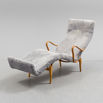 BRUNO MATHSSON, A Bruno Mathsson Pernilla chair from Firma Karl Mathsson dated 195(?).