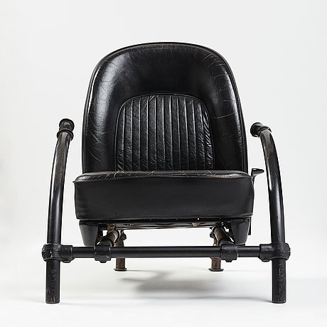 Ron arad, ron arad, a version of the rover-chair, one off, london 1980's.
