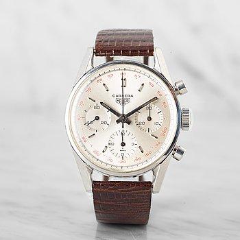 16. HEUER, Carrera, chronograph.