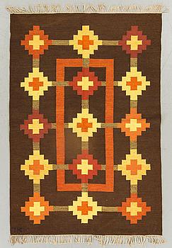 A CARPET  Flat weave, 204X137 CM.
