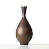 Berndt friberg, a stoneware vase, gustavsberg studio, sweden 1959.