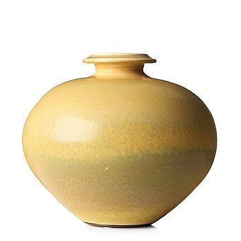 63. BERNDT FRIBERG, a stoneware vase, Gustavsberg studio, Sweden 1973.