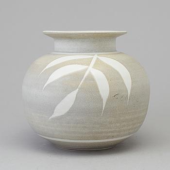 RÖRSTRAND, SUZANNE ÖHLÉN, a stoneware vase from Rörstrand.