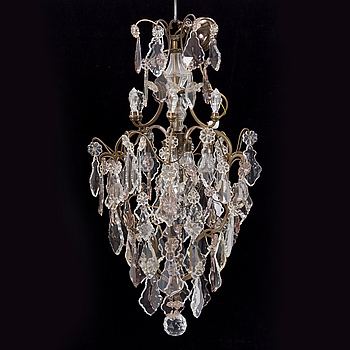 A mid of the 20th century rococo style chandelier.