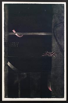 FERNANDO DE SZYSZLO VALDELOMAR, färgetsning, signerad och numrerad 18/90.