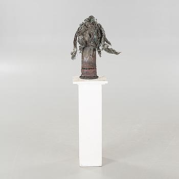a sculpture, not signed.