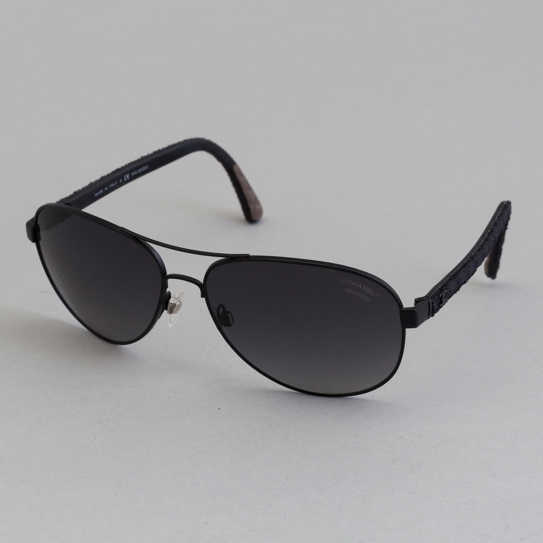 5ab471e568 Chanel black pilot summer glasses. - Bukowskis