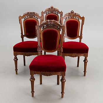 STOLAR, 4 st, nyrenässans, 1800-talets slut.