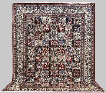 A CARPET, Baktiari, ca 405 x 307 cm.