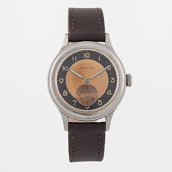 LONGINES, armbandsur, 33,5 mm.