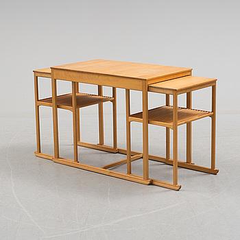 """CARL MALMSTEN, satsbord, """"Släden"""", 1900-talets andra hälft."""