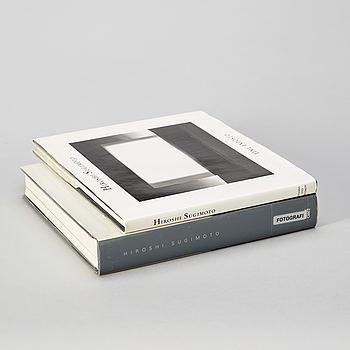 Fotoböcker, 2 st, Hiroshi Sugimoto.