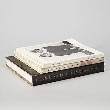 Photo books, 3 st, Diane Arbus.