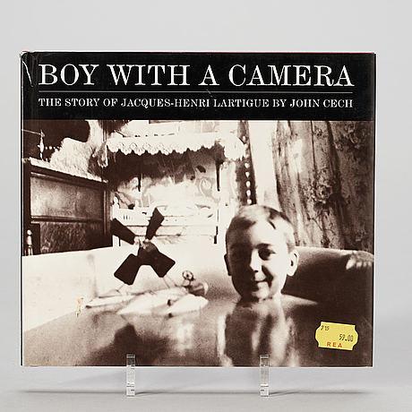 Fotoböcker, 8 st, franska fotografer bla. cartier bresson, brassai och lartigue