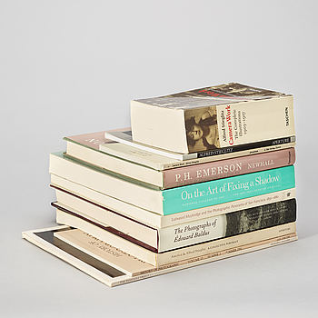 Photo books, 10, from 1850 til early 1900's, e.a Stieglitz and Muybridge.