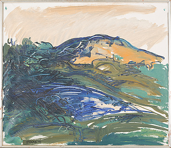 LARS STOCKS, LARS STOCKS, oil on canvas, signed and dated -71.