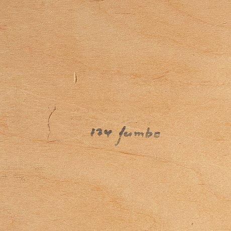 """Olof ottelin, an easy chair, """"jumbo"""", nr 174, kervo for stockmann oy, finland, 1960-70's."""