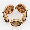 K-e pamlberg for alton, bracelet, bronce.