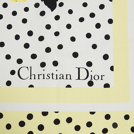 Sjal, christian dior