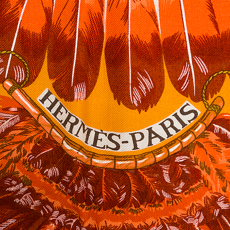 "Sjal, ""brazil"", hermès"