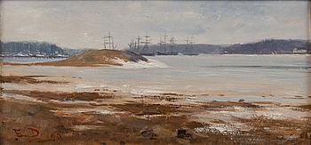 191. Elin Danielson-Gambogi, SHIPS OFF RUISSALO (TURKU).