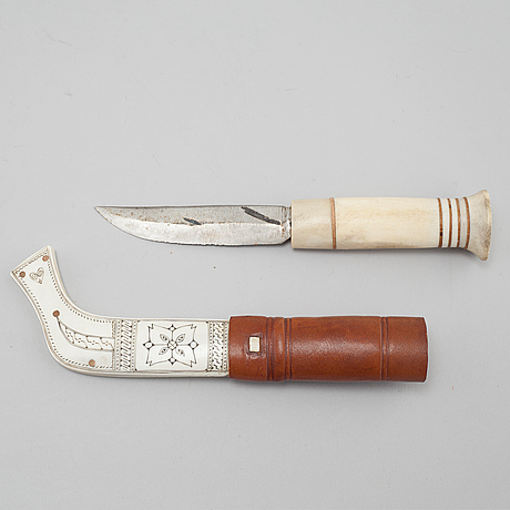 A knife by johan fankki, signed jf.