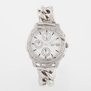 SEIKO, (50M) armbandsur, kronograf, 39 mm.