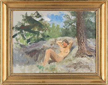 BRUNO LILJEFORS, olja på duk, signerad och daterad 1931.