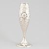A norwegian art nouveau silver vase maker's mark thune, oslo, early 20th century