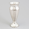 A danish art nouveau parcel gilt vase, unknown maker, copenhagen, 1914