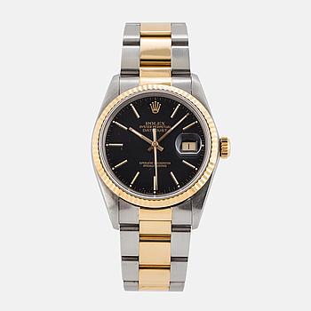 ROLEX, Oyster Perpetual, Datejust, wristwatch, 36 mm,