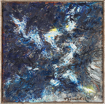 OLLE BONNIÉR, OLLE BONNIÉR, oil on canvas, signed and dated -59.