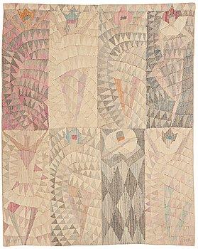 "297. MARIANNE RICHTER, VÄVD TAPET, ""Karneval"", gobelängvariant, ca 120,5 x 92,5 cm, signerad AB MMF MR."