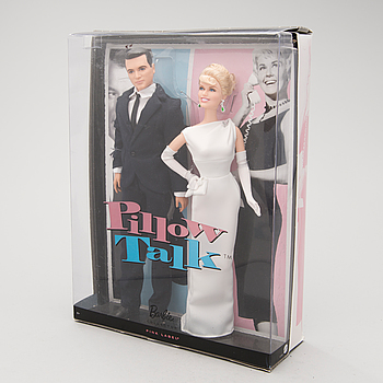 Two collectible dolls, Pillow Talk, Pink Label Collection, Mattel, 2011.