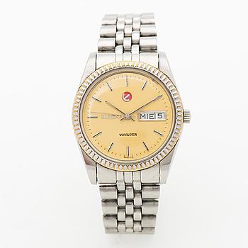 RADO, Voyager, wristwatch, 36 mm.