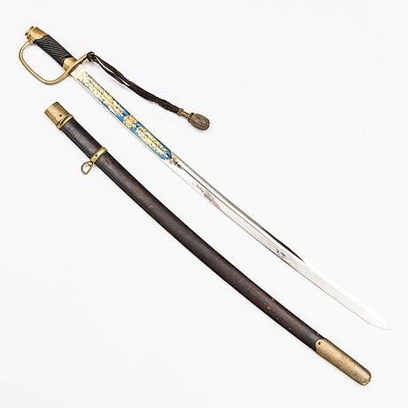 An imperial russian model 1881 officer's sabre.