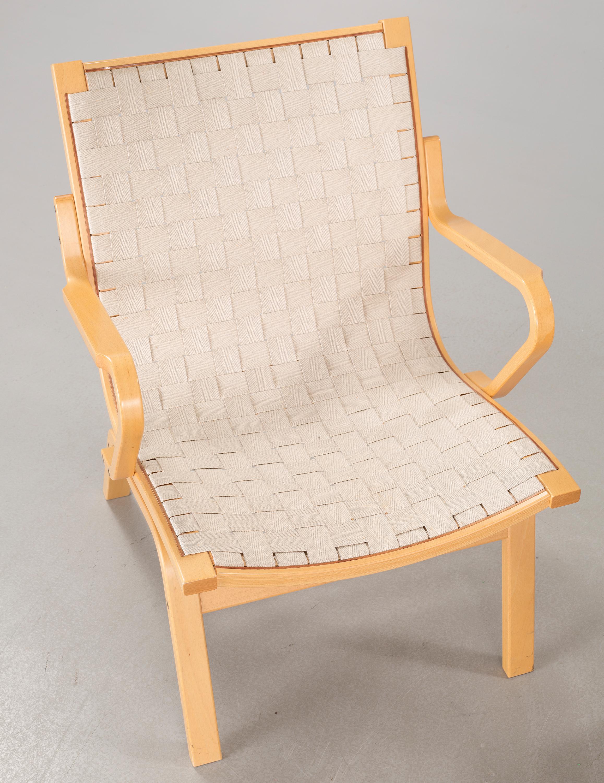 Lækker A pair of lounge chairs by Finn Ostergaard for Kvist Möbler, model BS-09