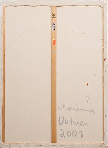 """Marianna uutinen,""""redstatement""""."""