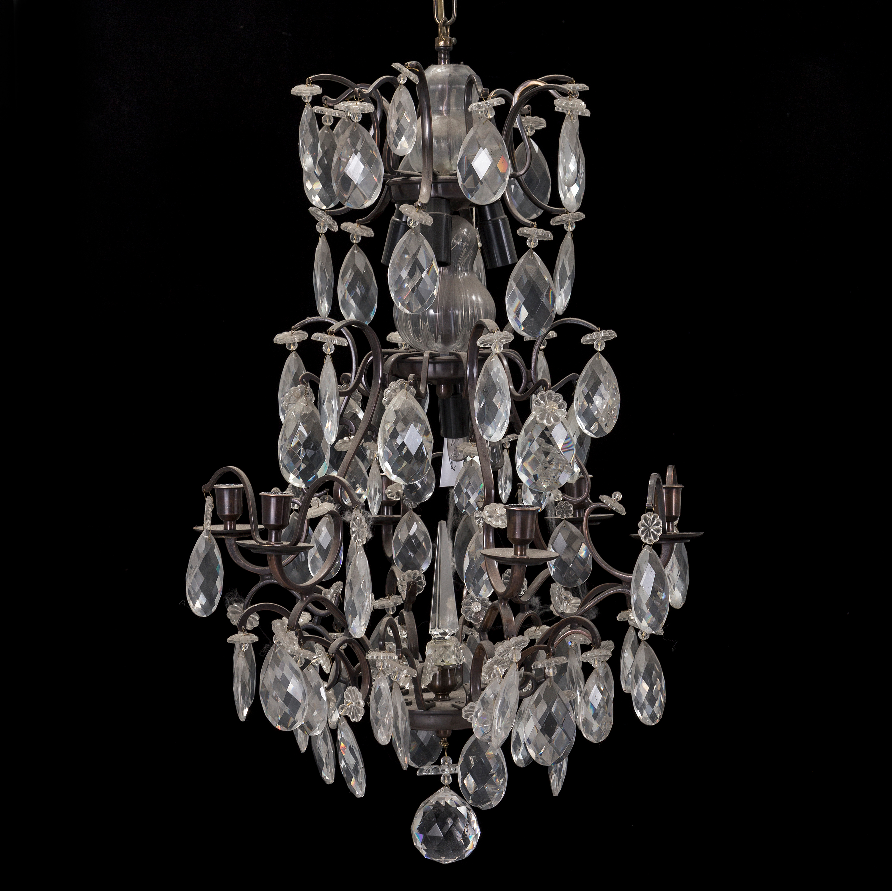 A rococo style chandelier late 20th century Bukowskis
