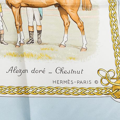 "Scarf, ""les robes"", hermès."
