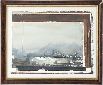 LARS LERIN, akvarell, signerad Lars Lerin och daterad -91.