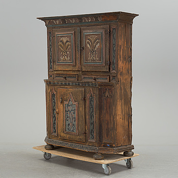 A Swedish cabinet. Second half of the 18th century.