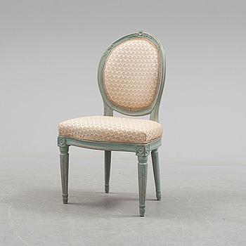 GUSTAVIANSK, A circa 1800 Gustavian chair.