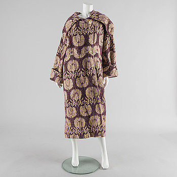A 1910s-20s coat by Augusta Lundin, Stockholm.
