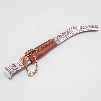 BERTIL ANDERSSON, kniv, signerad B.A och daterad -07.