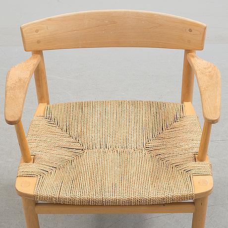 BØrge mogensen, an 'Öresund' beech armchair from ab karl andersson & söner
