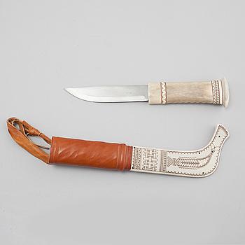 GUNNAR PERSSON, kniv, signerad.